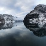fjord - view from the boat