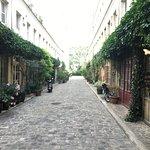Alleyway in Bastille area