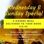 5-Course Meal Delivered to your Door on Weds & Sun