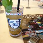 Order a mint julep and you get to keep the glass!