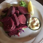 Fried beets, yummy!!