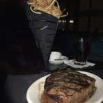 Ribeye and Shoestring fries (10/10)