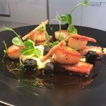 Scallops.. Black Pudding, Maple Pork Belly & Crackling!