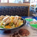 Culver's, S. Michigan St, South Bend, Indiana. Chicken Salad.