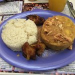 My mofungo plate at Cafe Manolin