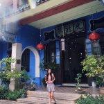 Cheong Fatt Tze Mansion's beautiful entrance!