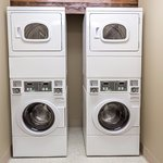 Laundry facilities for guest use