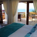 Separate Self Catering unit with private sea view patio