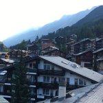 View of Zermatt from room
