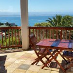 Separate Self Catering unit - private sea view patio