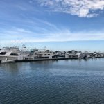 Indian River Marina is a very short bike ride away