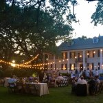 The Kaminski House lawn is available for event rentals.