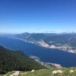 Lake Garda from Mt. Baldo