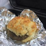 So good we went back the next day and grabbed sausage biscuits and cinnamon rolls for the ride h