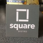 Neat cards, tasteful design: reflects the simplicity and quality of the restaurant and its food.