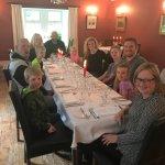 Lovely Dinner at the Greshornish House