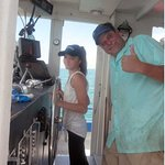The thrill of boating with Captain Randy on the Miss Pass-A-Grille
