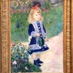 "Auguste Renoir, ""A Girl with a Watering Can"" (1876)"