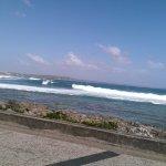 Photo de la mer des caraibes