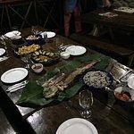 Evening meal of mahi mahi...
