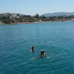A day out on the Speed Boat and swimming in the sea