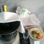Welcom Gift for our Anniversary Celebration. Nice touch!