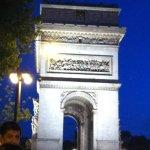 Arc de Triomphe is down the street!
