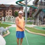 Lost world min-golf