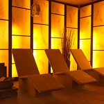 Our light-therapy room