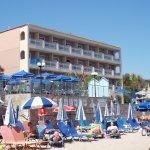 View back to Zakantha Beach Hotel