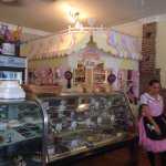 Adorable sweet shop in the corner!