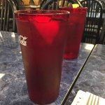 Unsweetened iced tea w/lemon