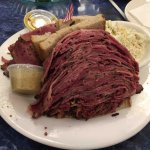 The Pastrami on Rye w/cole slaw!!!