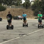 My boys had more fun with Jonathan doing the Segway tours than they did visiting Disneyland, Yos