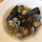P.E.I.Mussles & Manila Clams with white wine sauce