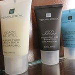 Temple Spa toiletries