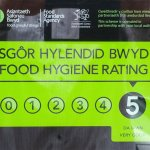 Level 5 food hygiene rating.