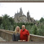 Our scenic photo infront of Howarts