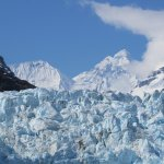Margerie Glacier and Mt Fairweather