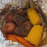 Campfire roast beef - just amazing !