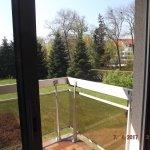 vue du balcon suite