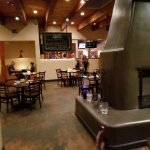 inside of the blue corn cafe and brewery