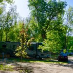 RV River Site Back In FHU