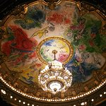 Main ceiling done by none other than Marc Chagall himself!