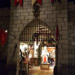 Entrance to Santa's workshop
