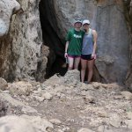 caves at the top of the hiking trail