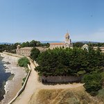 Church and monastery of the Lérins Abbey