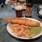 Haddock, Chips, and Mushy Peas (and Ale, of course)