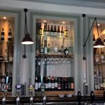 bar selection of spirits