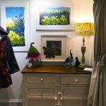 Hilary charlton-Woodgate textile art at Wildwood